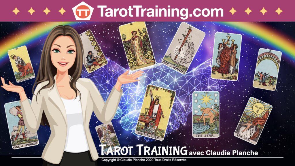 Tarot Training avec Claudie Planche